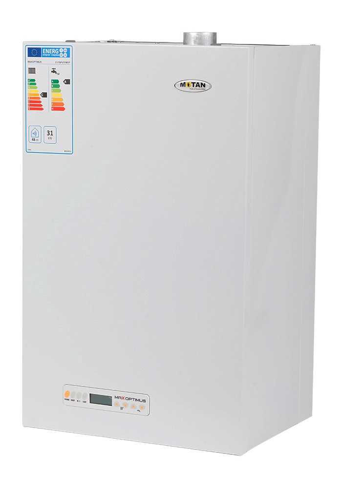 Centrala termica pe gaz conventionala MOTAN MAX OPTIMUS C17SPV31MEF-ERP, 31 kw, kit evacuare inclus. Poza 10063