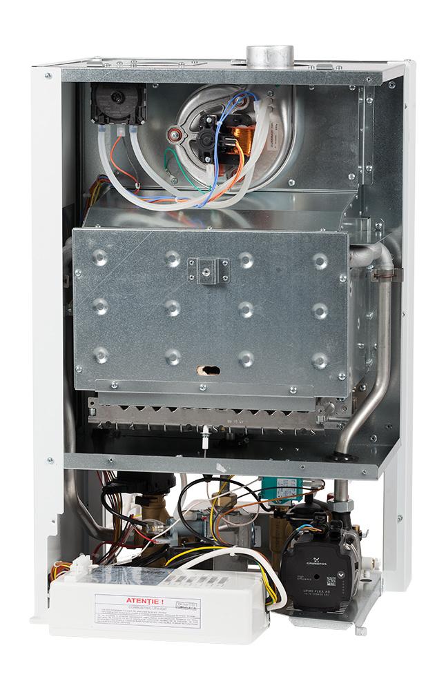 Centrala termica pe gaz conventionala MOTAN MAX OPTIMUS C17SPV31MEF-ERP, 31 kw, kit evacuare inclus. Poza 10065