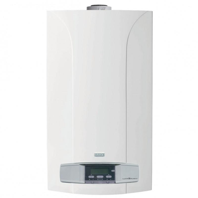 Centrala termica pe gaz in condensatie BAXI LUNA 3 AVANT+ 240FI. 24kw, kit evacuare inclus