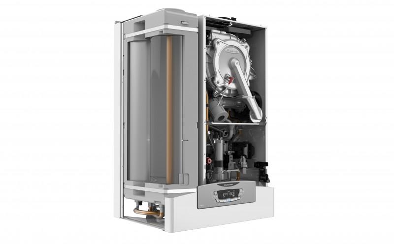 Poza Centrala termica pe gaz in condensatie ARISTON CLAS B ONE 35 cu boiler 40 l, kit evacuare inclus