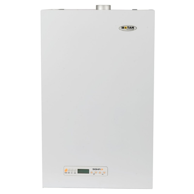 Centrala termica pe gaz conventionala MOTAN SIGMA 31 kw Erp, kit evacuare inclus