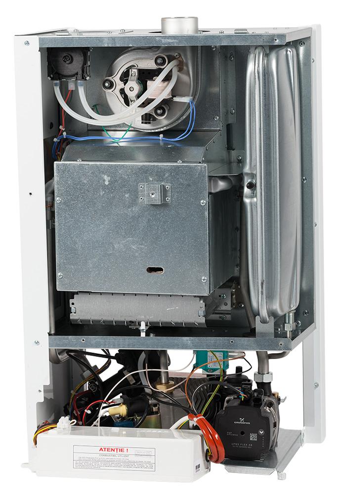 Centrala termica pe gaz conventionala MOTAN SIGMA 31 kw Erp, kit evacuare inclus. Poza 10069
