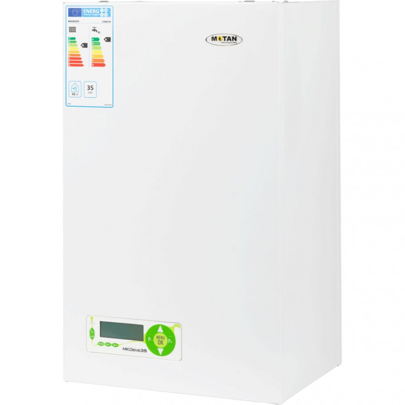 Centrala termica pe gaz in condensatie MOTAN MK DENS 35, kit evacuare inclus