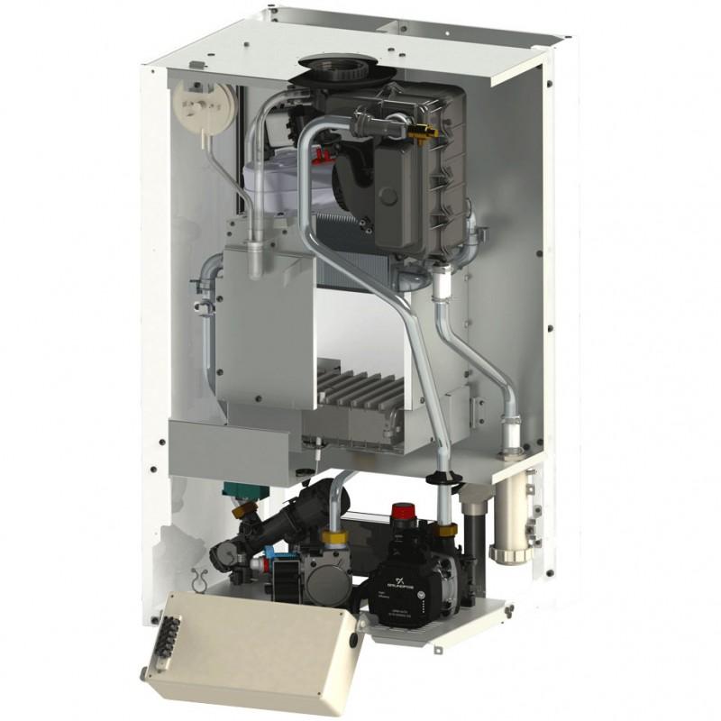 Poza Centrala termica in condensatie MOTAN GREEN 24 kw, kit evacuare inclus