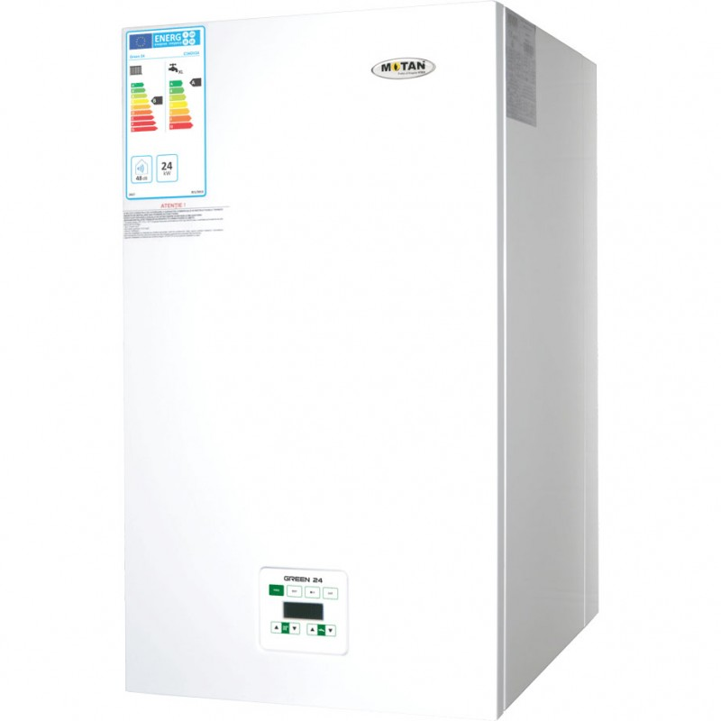 Centrala termica in condensatie MOTAN GREEN 24 kw, kit evacuare inclus