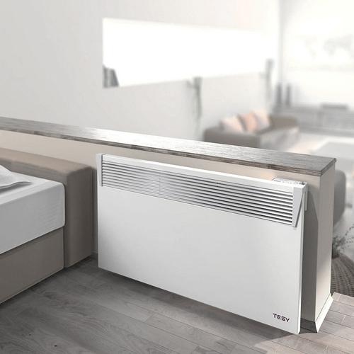 Poza Convector electric de perete TESY HeatEco 1500W, control electronic, alb
