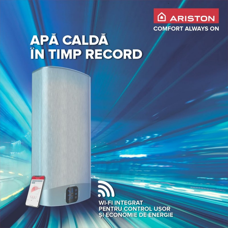 Poza Boiler electric Ariston VELIS WIFI 80 EU