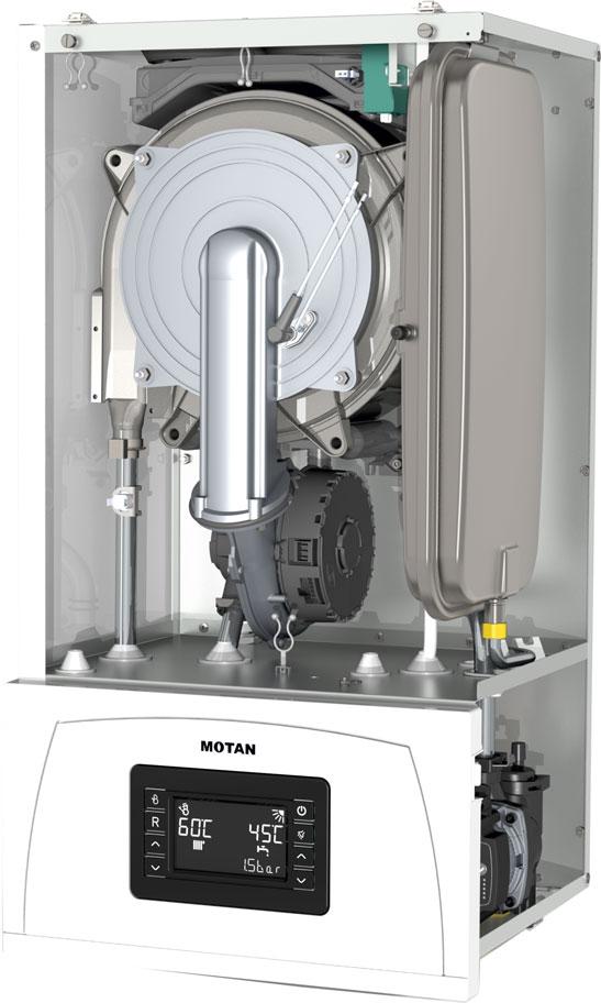 Poza Centrala termica in condensatie MOTAN CONDENS 100 25, kit evacuare inclus
