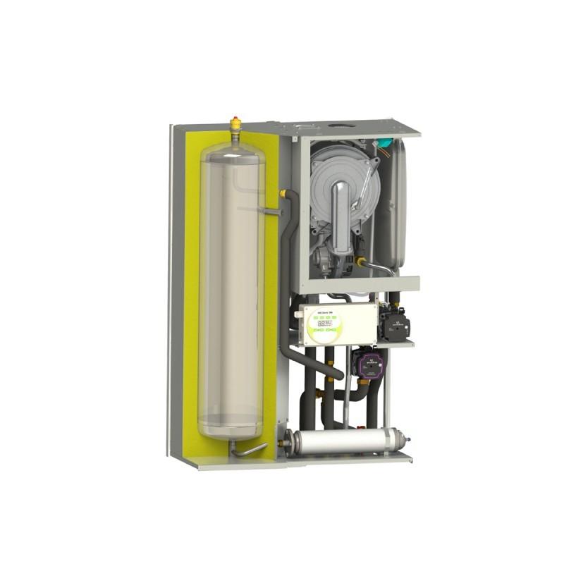 Poza Centrala termica pe gaz in condensatie MOTAN MKDENS 35 BA PLUS cu boiler 40 l, kit evacuare inclus