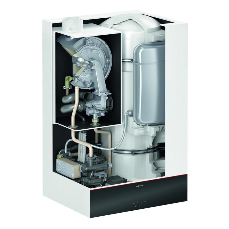 Poza Centrala termica pe gaz in condensatie VIESSMANN Vitodens 111-W 32 Kw, kit evacuare inclus