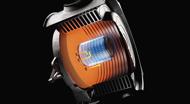Poza Centrala termica pe gaz in condensatie VIESSMANN Vitodens 100-W 25 Kw, kit evacuare inclus cu boiler Vitocell, monovalent de 200 litri