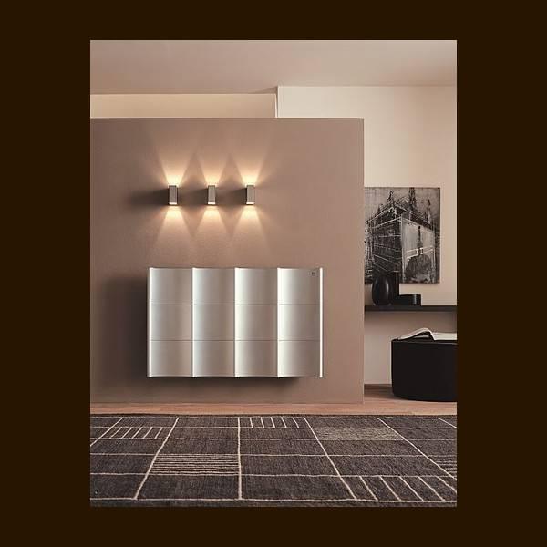 Calorifer decorativ CURVAL 509X1820