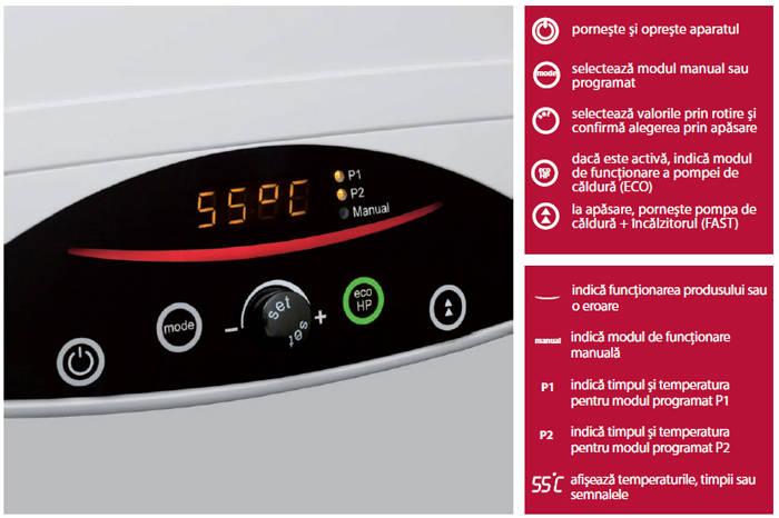Boiler cu pompa de caldura ARISTON NUOS 80