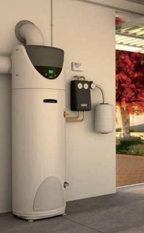 Boiler cu pompa de caldura ARISTON NUOS 250 SOLAR PARDOSEALA