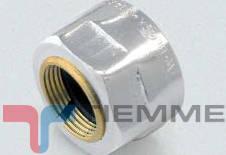 Adaptor pentru tub CUPRU 15-1/2 CROM