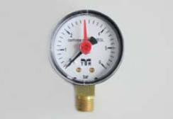 Manometru cu prindere radiala DN50 0-16 bar 1/4