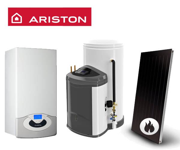 Centrala in condensare ARISTON Genus Premium EVO System 35 + KAIROS FAST CF-CD 1/300