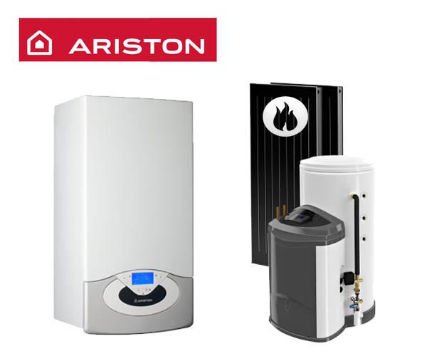 Centrala in condensare ARISTON Genus Premium EVO System 35 + KAIROS FAST CF-CD 2/200
