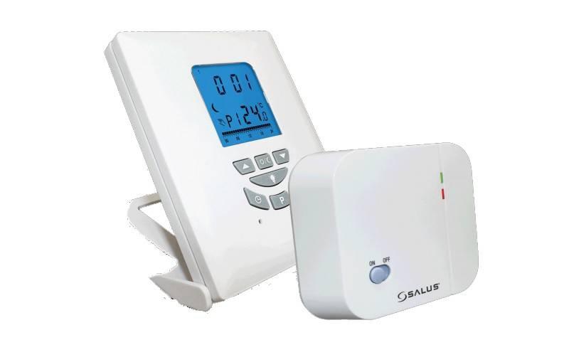Termostat de ambient fara fir SALUS T105 RF