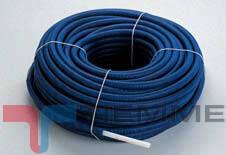 Teava PEX izolat albastru 16 x 2 mm