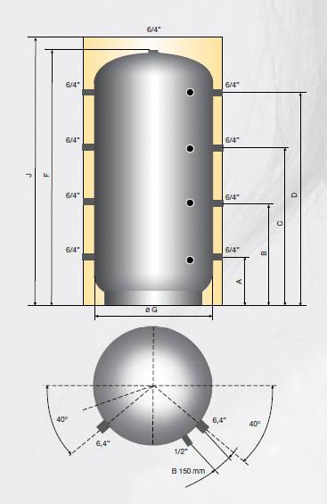 Puffer izolat AUSTRIA EMAIL PSM 5000