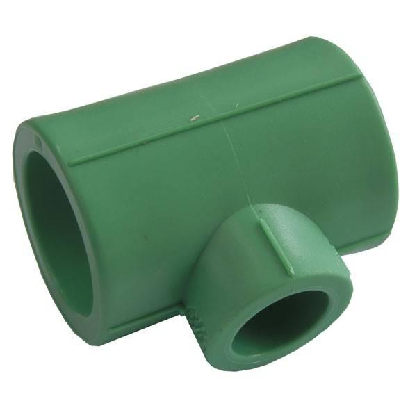 Teu redus  PPR verde 25x20x20