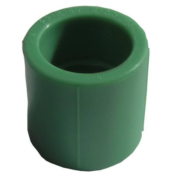 Mufa PPR verde 25