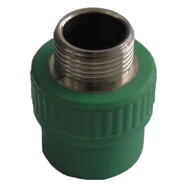 Racord PPR verde 40x1 1/4 FE
