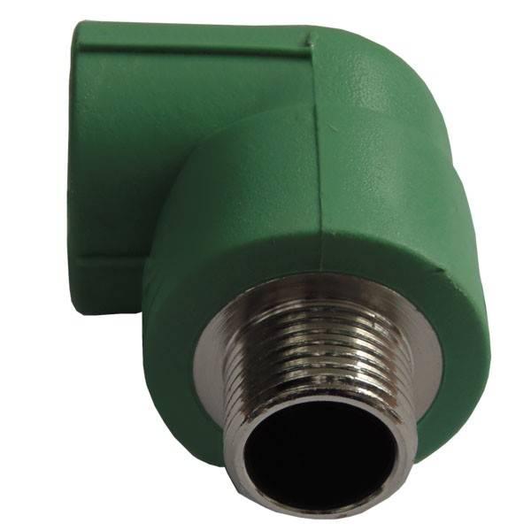 Cot PPR verde 20x1/2 FE