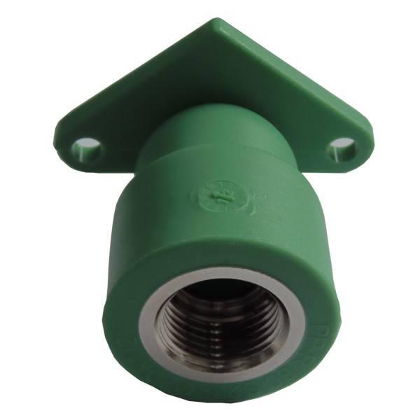 Cot cu talpa PPR verde 20x1/2 FI