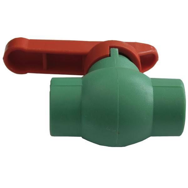 Robinet sferic PPR verde 20