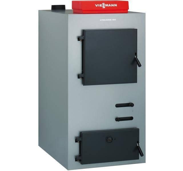 Cazan pe lemne cu gazeificare VITOLIGNO 100-S 30 KW