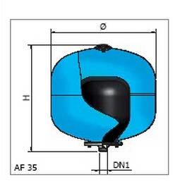 Vas de hidrofor ELBI AC