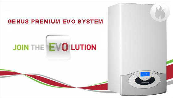 Centrala in condensatie ARISTON GENUS PREMIUM EVO SYSTEM 30FF