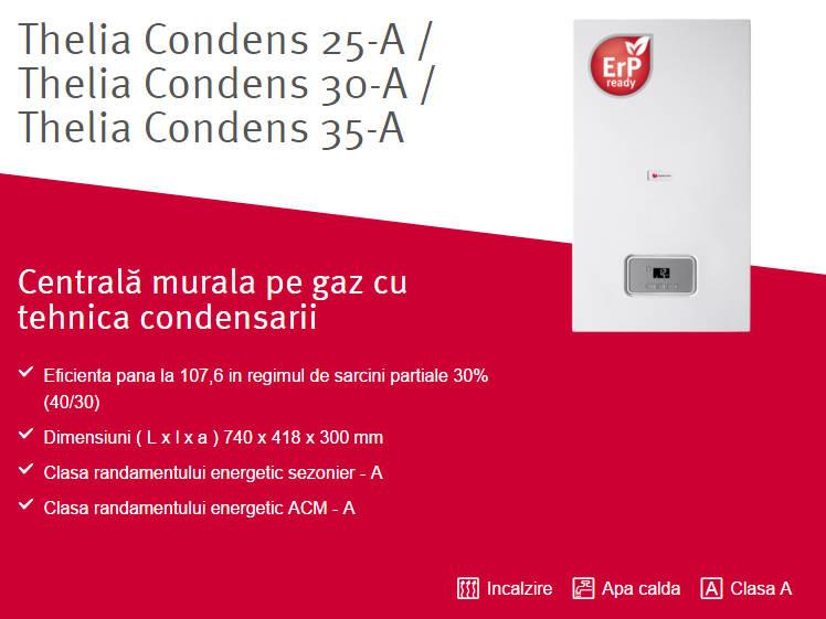 Centrala termica in condensare SAUNIER DUVAL Thelia Condens