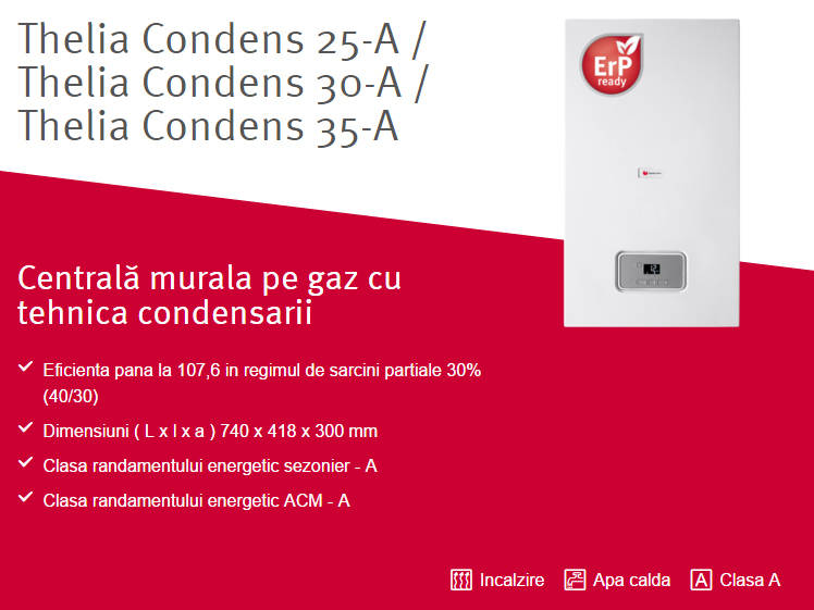 Poza Centrala termica in condensare SAUNIER DUVAL Thelia Condens 35A