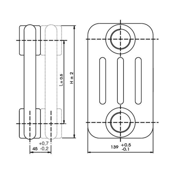 Element calorifer tubular Tesi 4