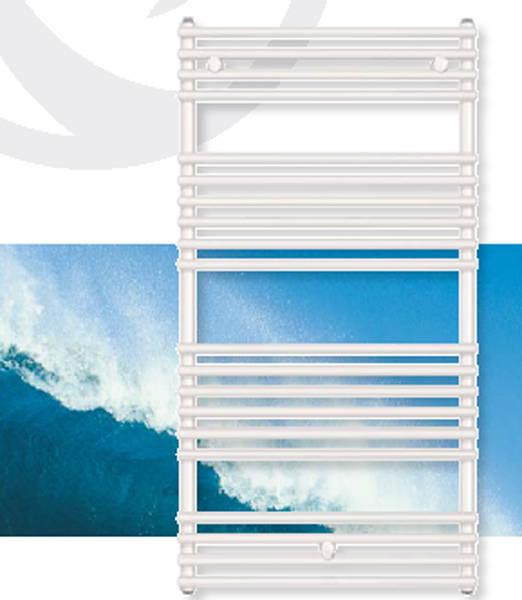 Calorifer de baie curbat VOGEL&NOOT DELLA WAVE 887x1800