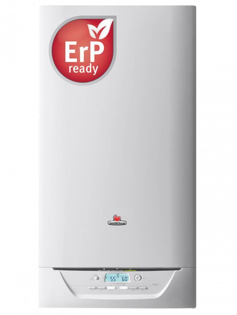 Centrala termica in condensare SAUNIER DUVAL Isotwin Condens 35 A cu boiler incorporat 42 l  kit evacuare inclus