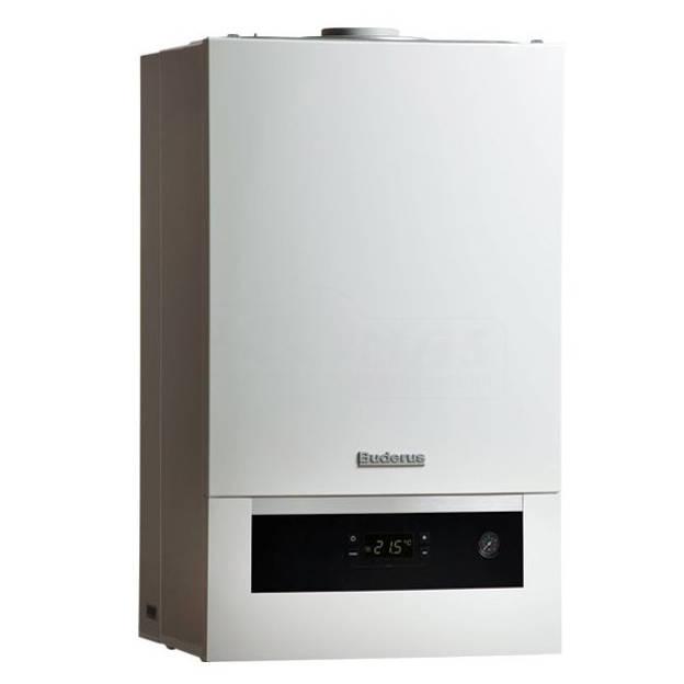 Centrala termica pe gaz in condensare BUDERUS LOGAMAX PLUS GB 012K V2 25kW  kit evacuare inclus
