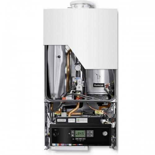 Centrala termica pe gaz in condensare BUDERUS LOGAMAX PLUS GB 072K V2 24kW  kit evacuare inclus