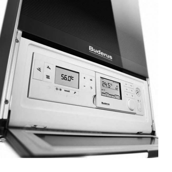 Centrala termica pe gaz in condensare BUDERUS LOGAMAX PLUS GB 172IK 30kW negru