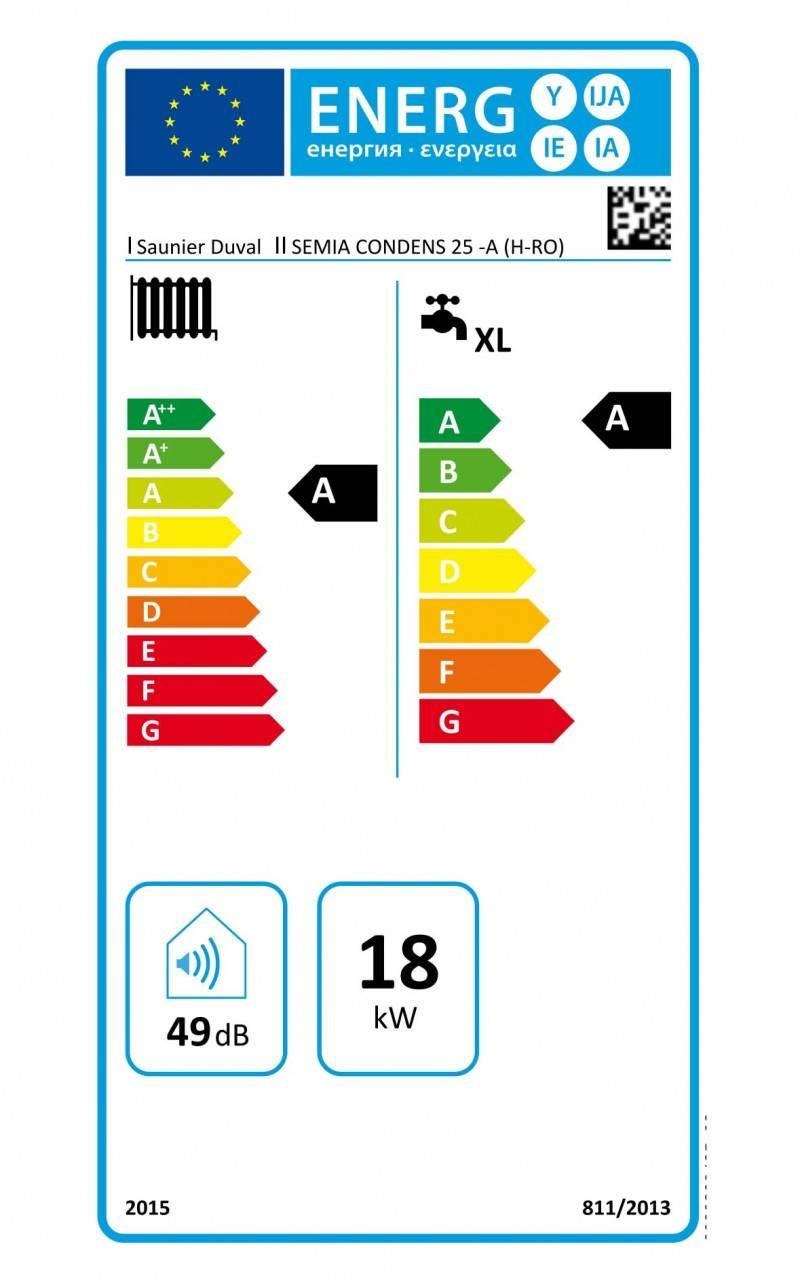 Centrala termica in condensare SAUNIER DUVAL Semia Condens 25A. Poza 8239