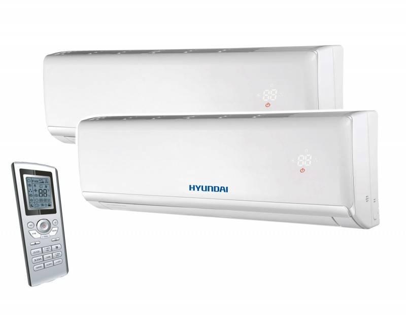 Aparat aer conditionat multisplit HYUNDAI, inverter 7000+7000 BTU. Poza 8244