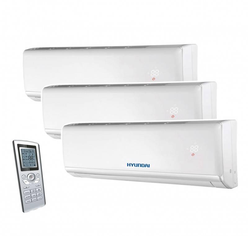 Aparat aer conditionat multisplit HYUNDAI, inverter 7000+7000+7000 BTU. Poza 8258