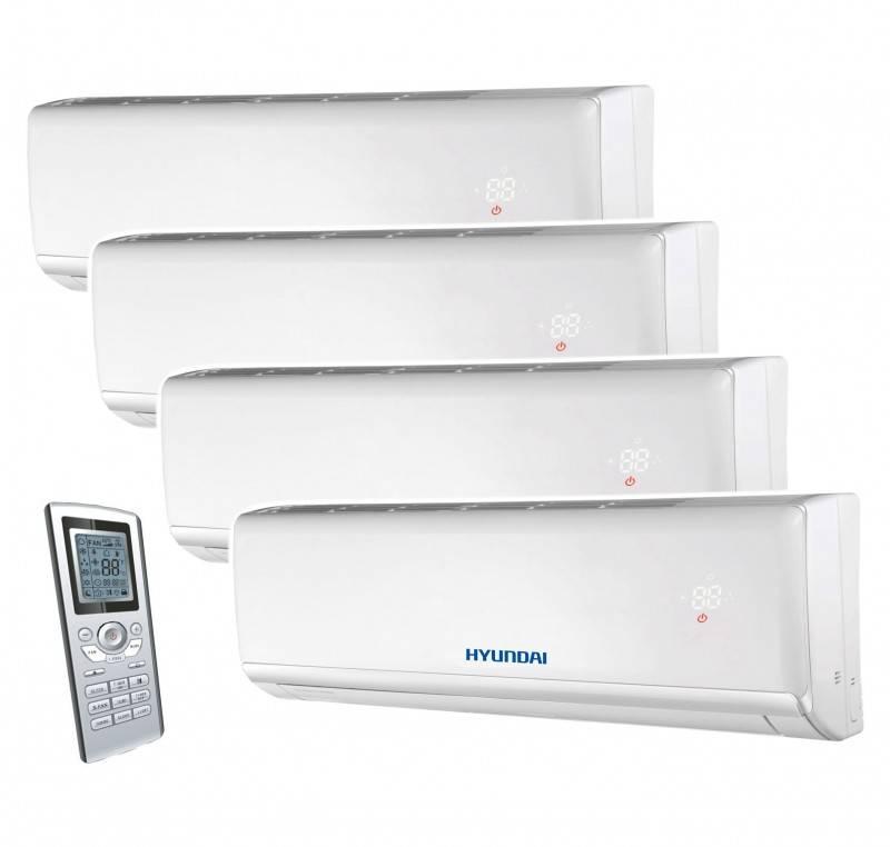 Aparat aer conditionat multisplit HYUNDAI, inverter 7000+7000+7000+7000 BTU. Poza 8267