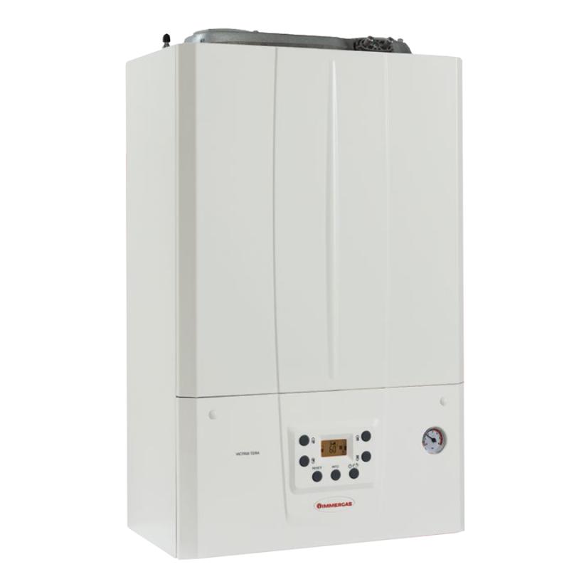 Centrala termica pe gaz in condensare IMMERGAS VICTRIX TERA 24/28 1 ErP, kit evacuare inclus