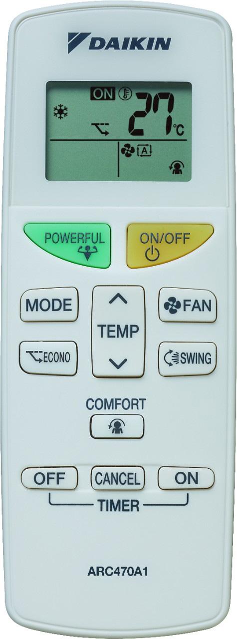 Aparat aer conditionat DAIKIN FTXB25C-RXB25C inverter 9000 BTU, Clasa A+