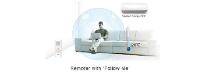 Aparat de aer conditionat Midea New RF Series MS12FU-09HRDN1-QRD0GW, 3D DC Inverter, 9000 Btu/h , Clasa A++. Poza 9645