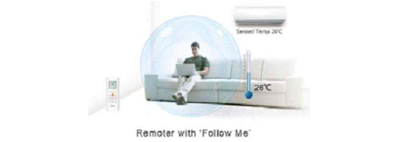 Aparat de aer conditionat Midea Blanc Full DC MSMABU-12HRFN1-QRD0GW, Inverter, 12000 Btu/h , Clasa A++. Poza 9681